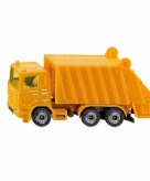 Speelgoedauto siku vuilniswagen 10 cm