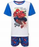 Spiderman blauw witte shortama korte pyjama