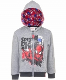 Spiderman hooded sweater vest voor jongens 10093330