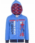 Spiderman hooded sweater vest voor jongens