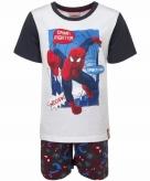 Spiderman zwart witte shortama korte pyjama