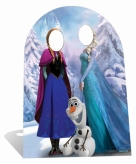 Stand in cut out frozen