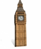 Star cut out big ben