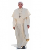 Star cut out paus franciscus