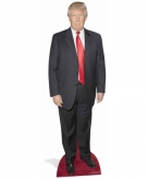 Star cut out president donald trump