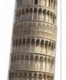Star cut out toren van pisa