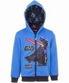 Star wars hooded sweater vest voor jongens