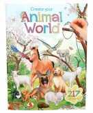 Stickerboek dieren wereld thema voor kinderen
