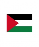 Stickertjes van vlag van palestina