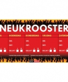Sticky devil neukrooster per week