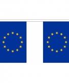 Stoffen vlaggenlijn europa 3 meter