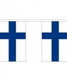 Stoffen vlaggenlijn finland 3 meter