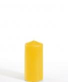 Stompkaars goudgeel 5 cm doorsnede