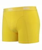 Stretch boxershort fel geel voor heren