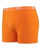 Stretch boxershort fel oranje voor heren