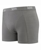 Stretch boxershort grijs voor heren