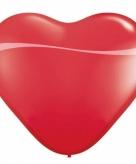 Super grote rode hartjes ballon