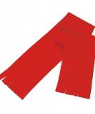 Super voordelige rode fleece sjaal voor kids