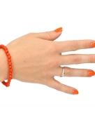 Supporter armband oranje