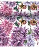 Tafelloper 3 in 1 met bloemenprint