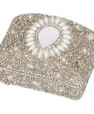 Tandendoosje zilver oriental 8 cm