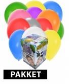 Tankje met helium met 150 ballonnen