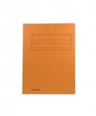 Tekeningen opbergmap oranje