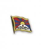 Tibetaanse vlag broche