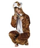 Tijger onesie dierenpak 180 cm