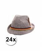 Tiroler hoedjes grijs 24x