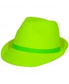 Tribly hoed in het neon groen