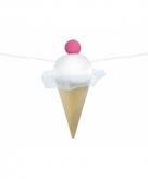 Tropische versiering ijsjes slinger