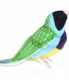 Tropische vogel knuffel gouldamadine 10050740