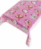 Tuin tafelkleed voor binnen buiten kitch roze 140 x 240 cm