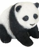 Tuinbeeldje pandabeer 14 cm