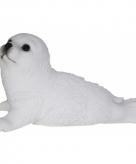 Tuinbeeldje zeehond diertje 18 cm