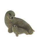 Tuindecoratie zeehonden beeldje 11 cm 10068998