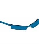 Turquoise sport heuptasje 2 vakken 80 107 cm voor volwassenen