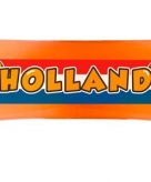 Uitrol banner holland 80 cm