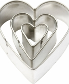 Uitstekers hart 3 stuks