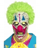Uv clown masker met haar