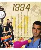 Verjaardag cd kaart met jaartal 1994