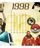 Verjaardag cd kaart met jaartal 1998