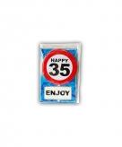 Verjaardagskaart 35 jaar