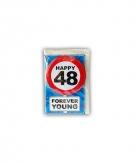 Verjaardagskaart 48 jaar