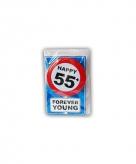 Verjaardagskaart 55 jaar
