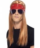 Verkleed set rocker voor volwassenen