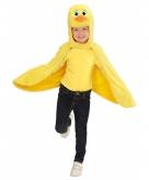 Verkleedcape eend voor peuters