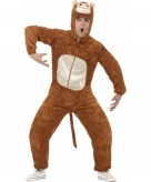 Verkleedkleding apenpak volwassene