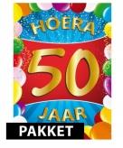Versierings pakket 50 jaar